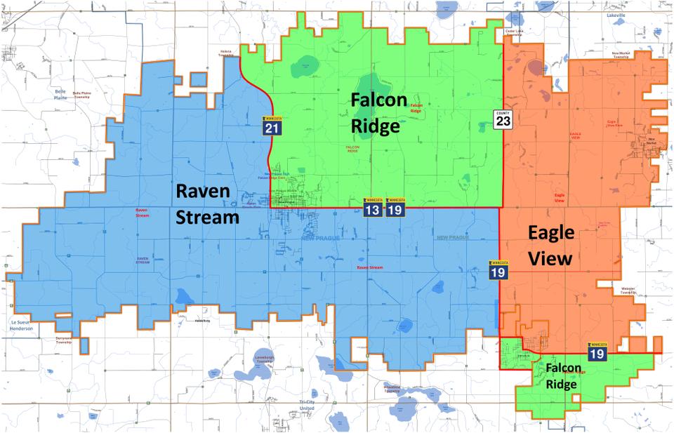 School Boundaries Map