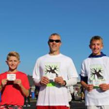 1 Mile Winners - Male