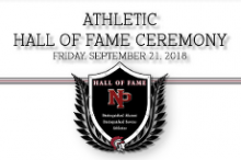 Athletic Hall of Fame Ceremony
