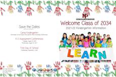 2021-2022 Kindergarten Brochure