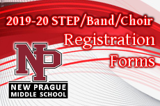 2019-2020 STEP/Band/Choir - Registration Forms