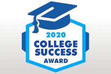 College Success Award 2020 Badge