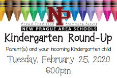 Kindergarten Round-Up Information Night and Online Registration